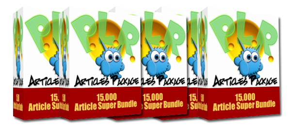 Monster PLR Articles Pack