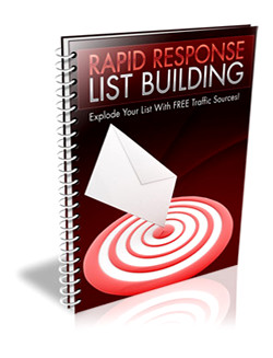 Rapid Response List Building
